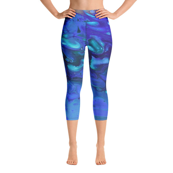 Underwater Dedlight Yoga Capri Leggings