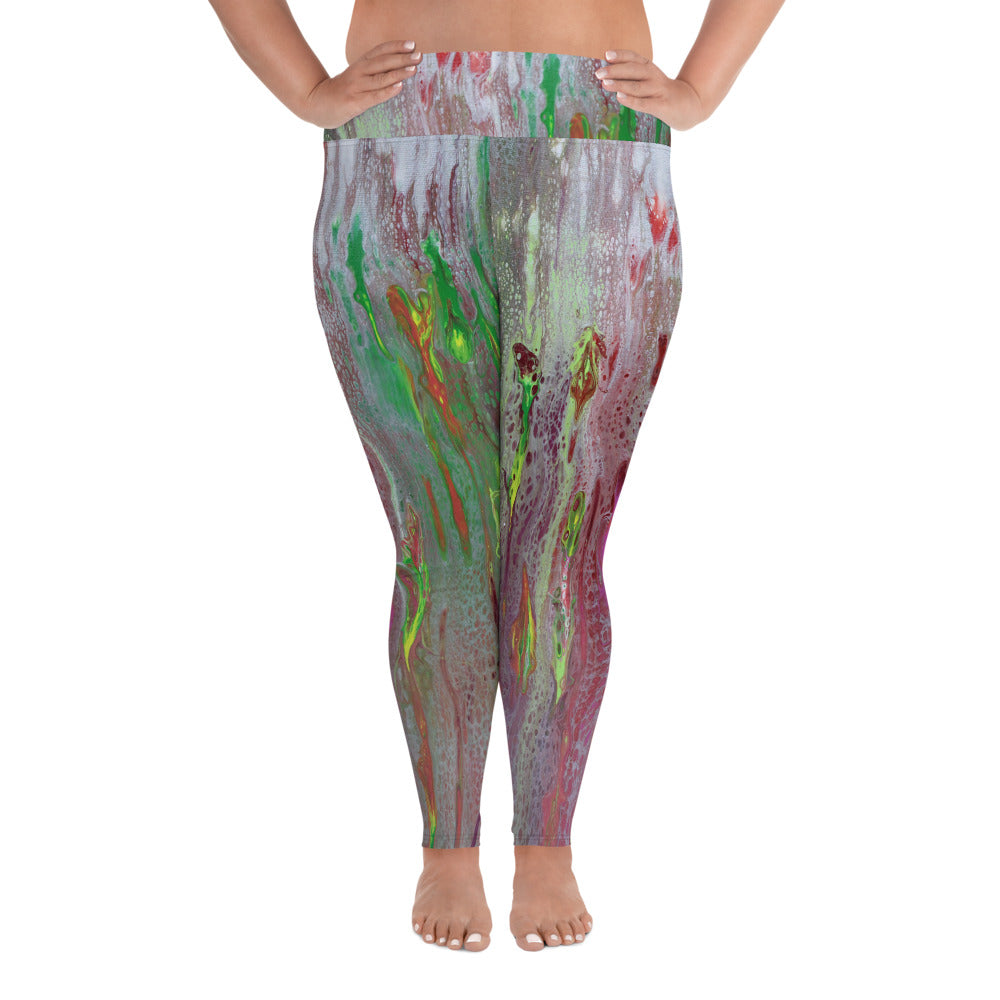 Artistic Touch Plus Size Leggings
