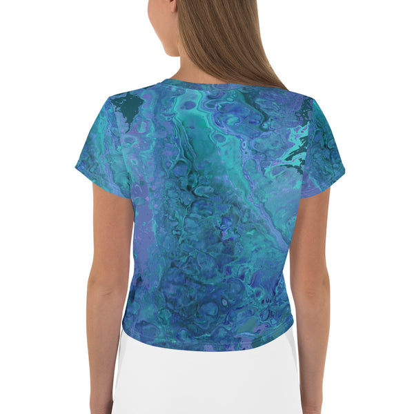 Abstract Water Crop Tee