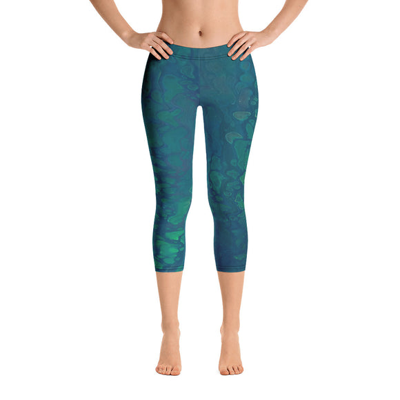 Aquawoman Capri Leggings