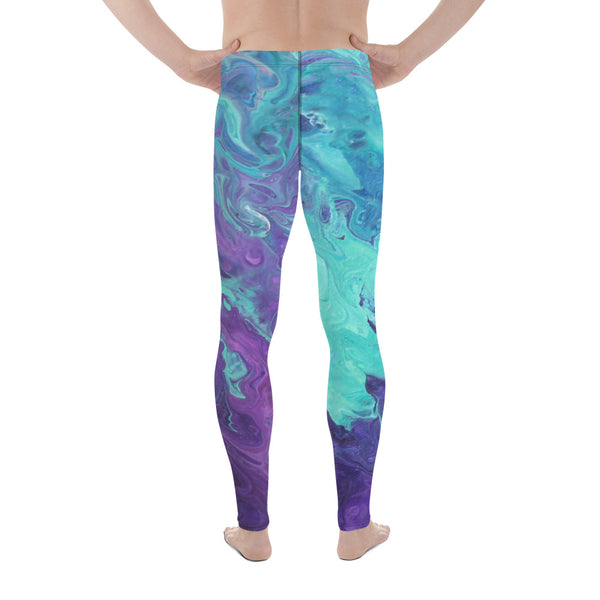 Lavender Twist Men's Leggings