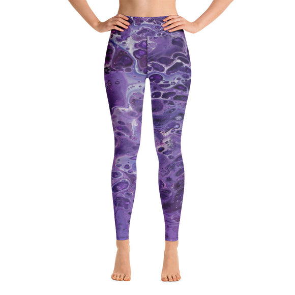 Shy Violet Yoga Leggings