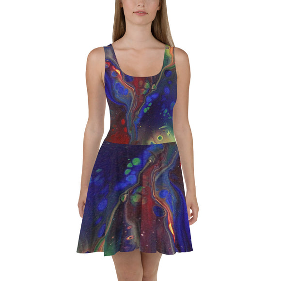 Rainbow Love Skater Dress