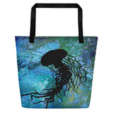 Jellyfish Beach Bag