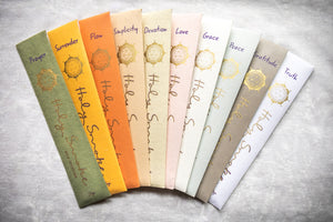 Holy Smoke Eco Incense Packets - 10 x Mixed - Sample Every Scent