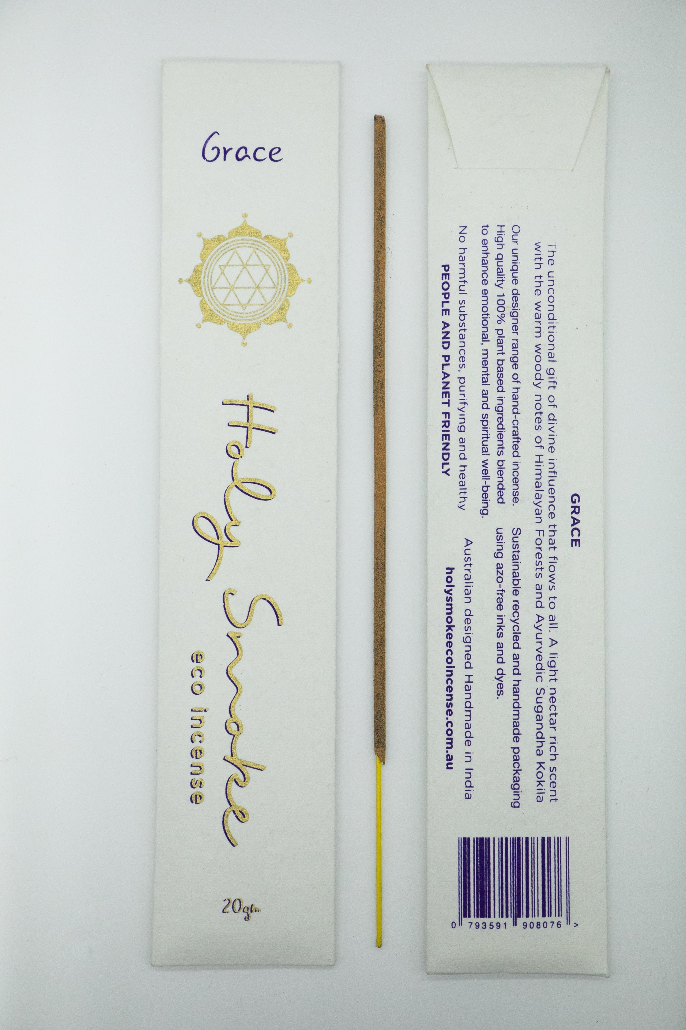 Holy Smoke Eco Incense Packet - GRACE