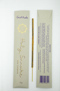 Holy Smoke Eco Incense Packet - GRATITUDE