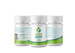 CBD Soft Gel Caps (Sleep) - with melatonin 25m g(30ct)