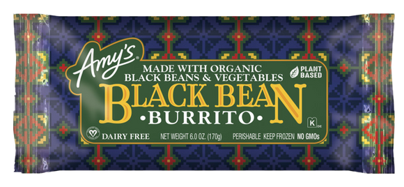 Amy's Black Bean Burrito
