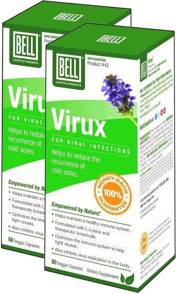 BELL Virux Viral Infections (60 caps) 2-Pack
