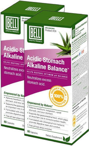BELL Acidic Stomach Alkaline Balance (60 caps) 2-Pack