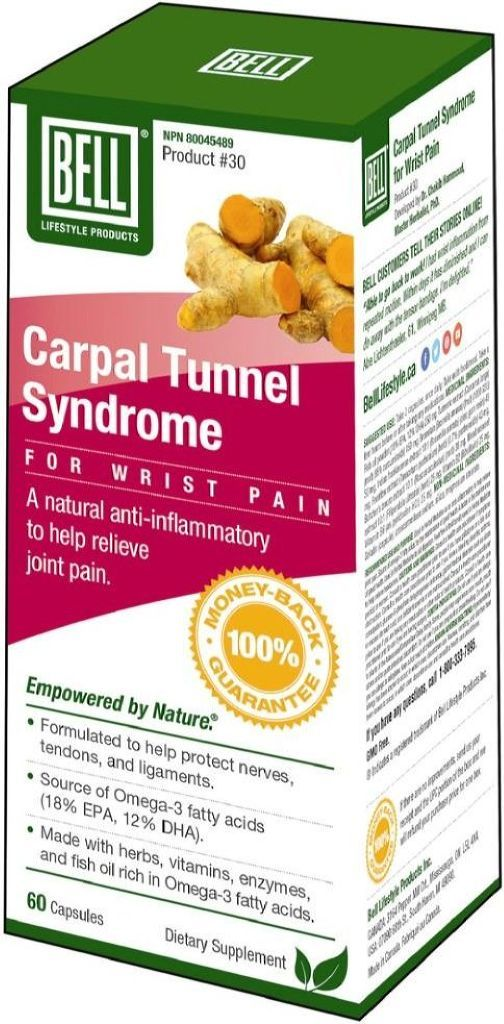 BELL Carpal Tunnel Syndrome (60 caps)