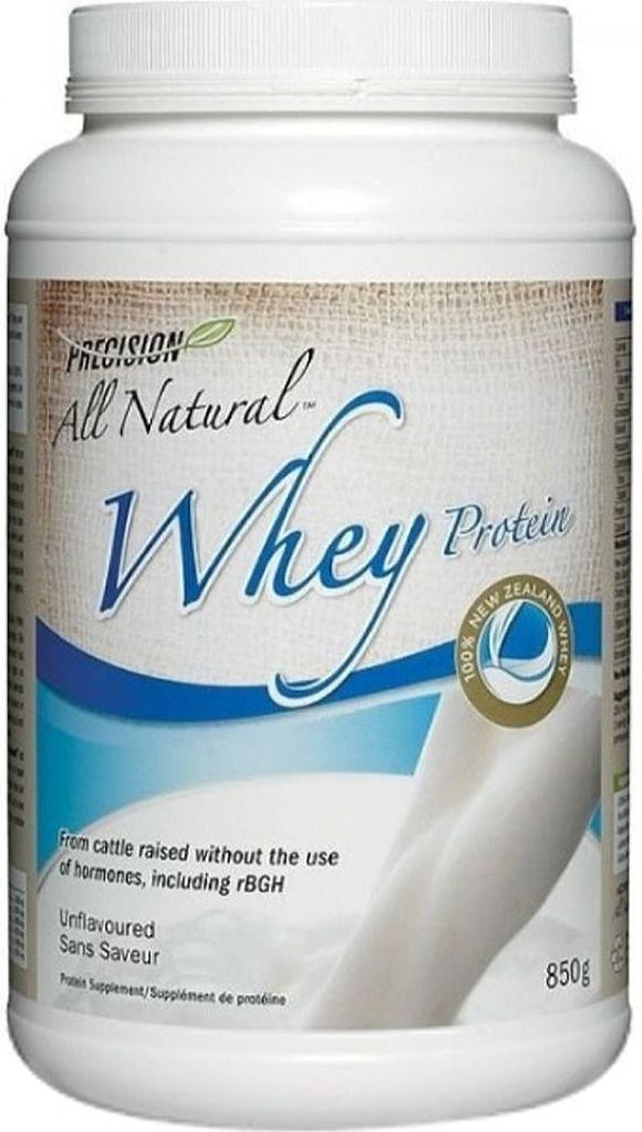 PRECISION All Natural Whey Protein (Unflavoured - 850 Gr)