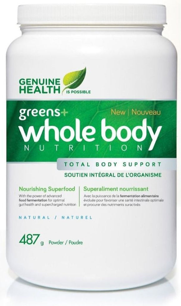 GENUINE HEALTH Greens+ Whole Body  (Natural - 487 gr)