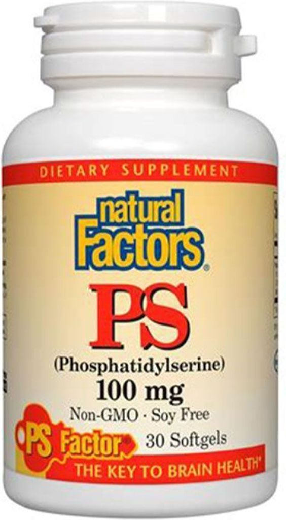 NATURAL FACTORS PS - Phosphatidylserine ( 100 Mg - 30 Softgels )