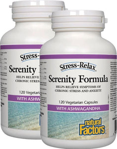NATURAL FACTORS Serenity Formula (120 V-Caps) 2-Pack