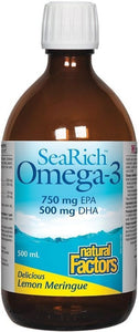 SEARICH Omega 3  750 EPA / 500 DHA (Lemon - 500 ml)