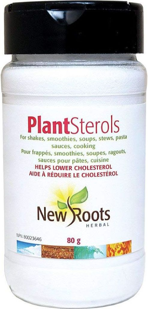 NEW ROOTS Plant Sterol Powder  ( 80 Gr )