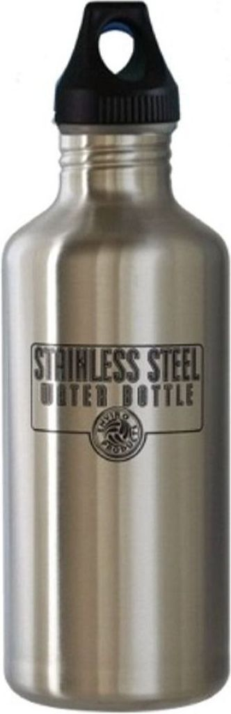 NEW WAVE - SS Water Bottle - Brushed Steel (1.18 L)