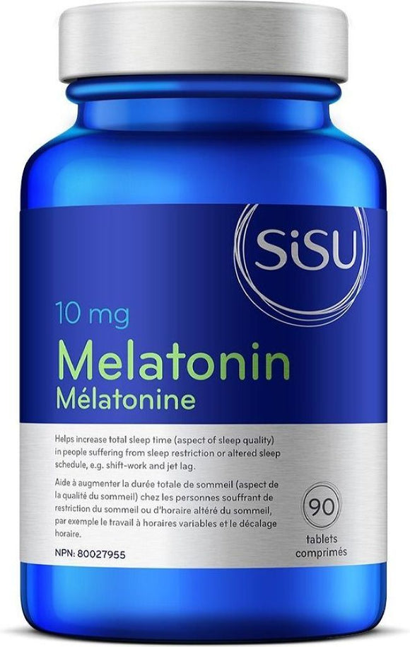 SISU Melatonin 10 mg  (90 Tabs)