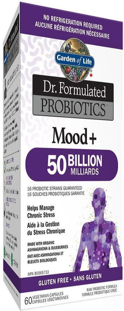 DR FORMULATED Probiotics Mood+ 50 Billion (60 veg caps)
