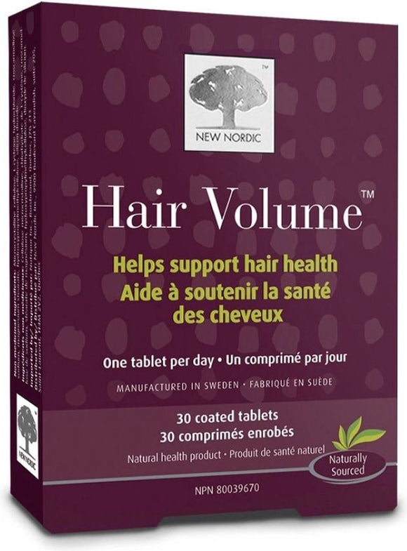 NEW NORDIC Hair Volume  (30 coated tabs)
