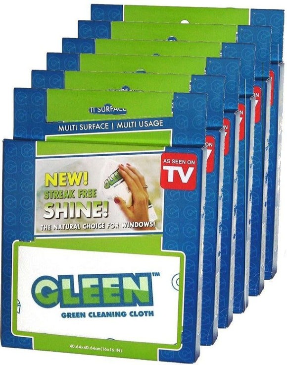 GLEEN Cleaning Cloth for Stainless Steel 6-Pack