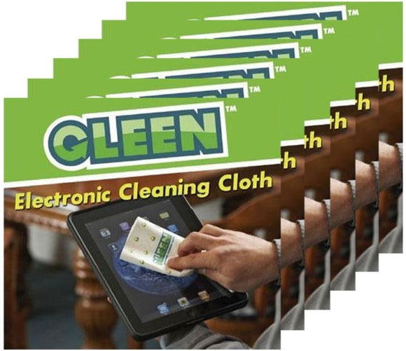 GLEEN Cleaning Cloth for Electronics 6-Pack