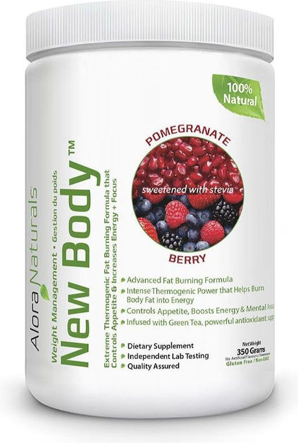 ALORA NATURALS New Body ( Pomegranate Berry - 350 gr)