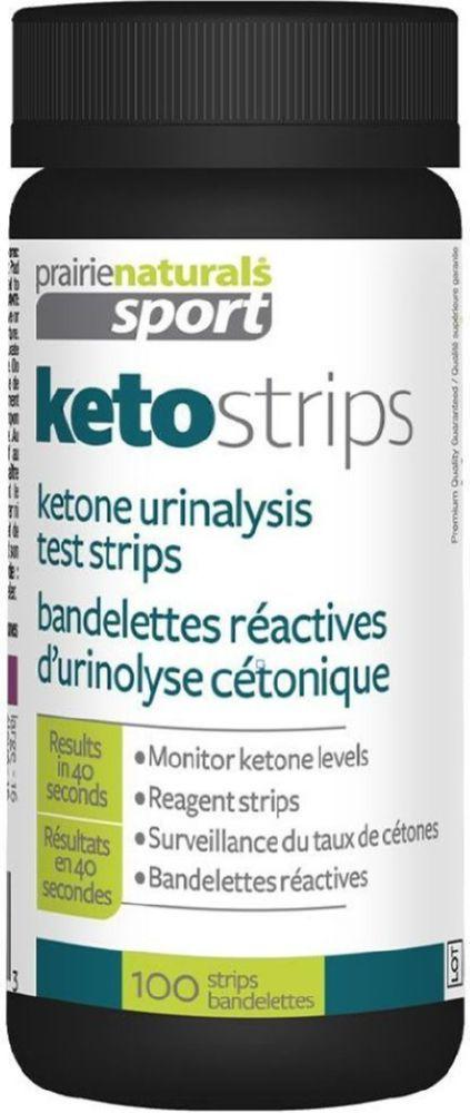 PRARIE NATURALS Ketostrips (100 Strips)
