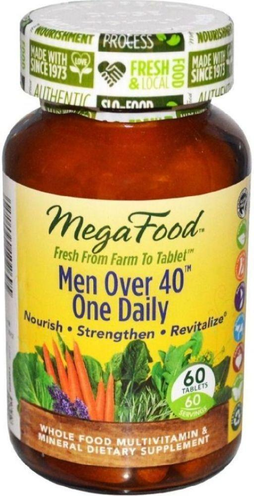 MEGAFOOD Men Over 40 One Daily (72 Tabs)