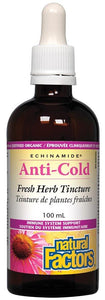 NATURAL FACTORS Echinamide Anti-Cold Tincture  (100 ml)