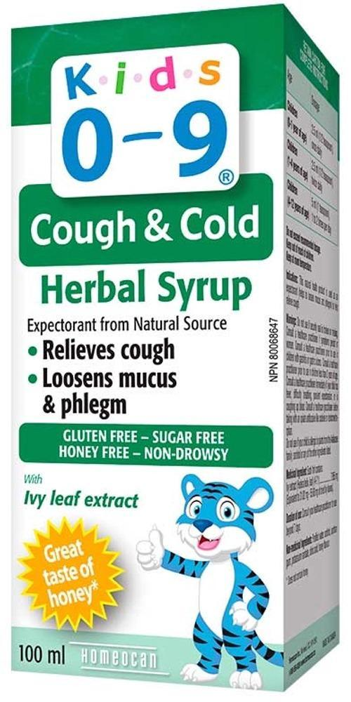HOMEOCAN Kids 0-9 Cough & Cold (Honey - 100 ml)