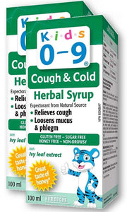 HOMEOCAN Kids 0-9 Cough & Cold (Honey - 100 ml) 2-Pack