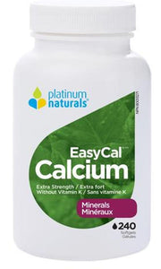 PLATINUM Easy Calcium Extra Strength ( 240 sgels )