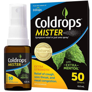 COLDROPS Mister (50 sprays - 6.6 ml)