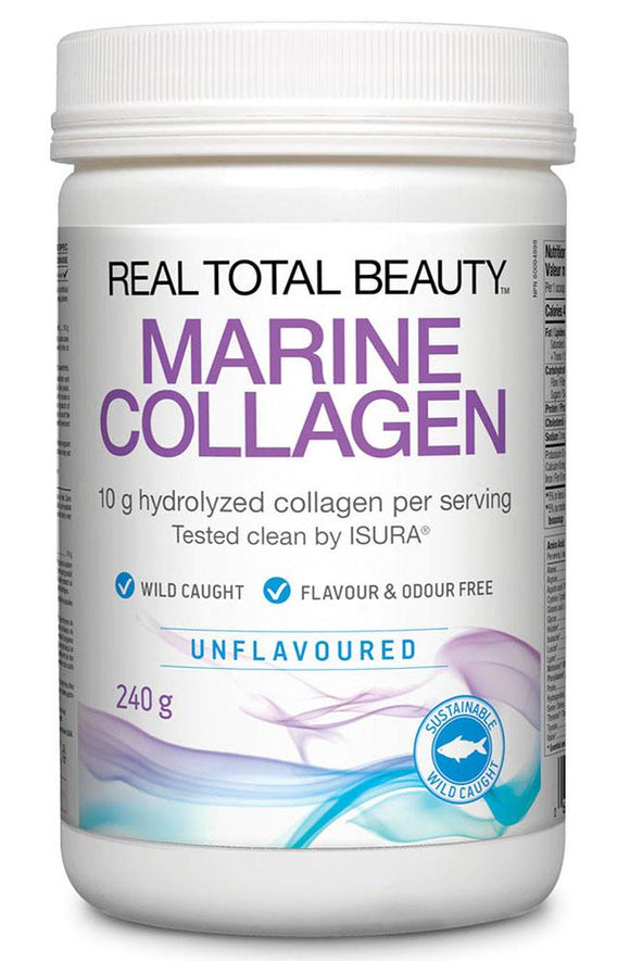 NATURAL FACTORS Real Total Beauty Marine Collagen (Unflavoured - 240 gr)