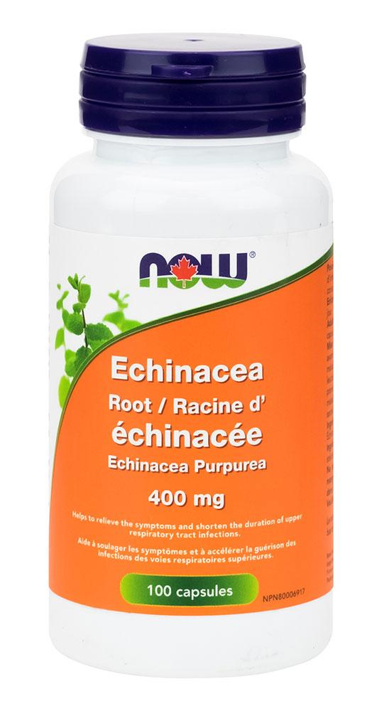 NOW Echinacea Root (400 mg - 100 veg caps)