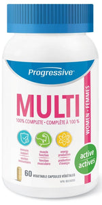 PROGRESSIVE Multi Active Women (60 Caps)