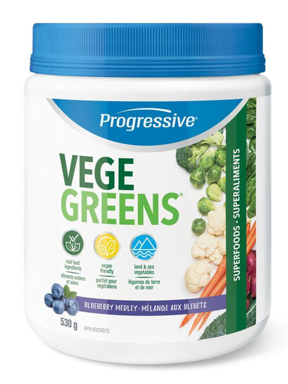 PROGRESSIVE VegeGreens (Blueberry - 530 Gr)