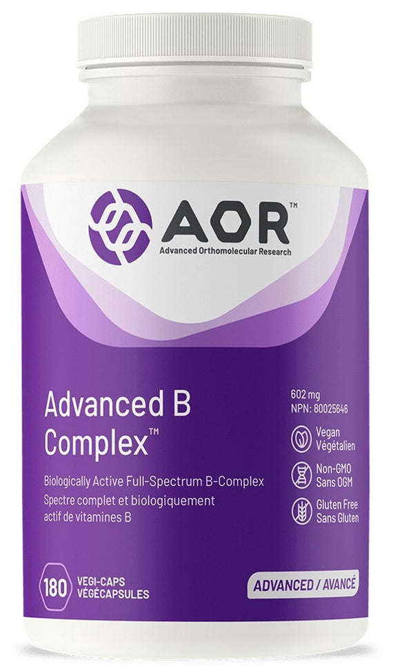 AOR Advanced B Complex (180 caps)