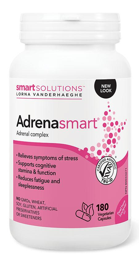 SMART SOLUTIONS ADRENAsmart (180 Veg Caps)