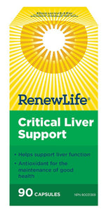 RENEW LIFE Critical Liver Support (90 caps)