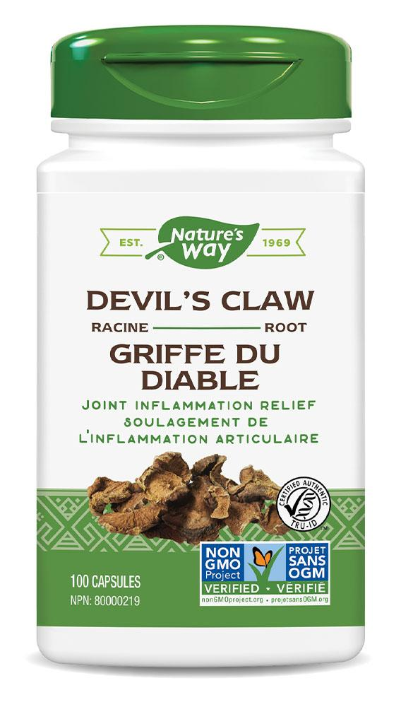 NATURES WAY Devils Claw Root (100 caps)