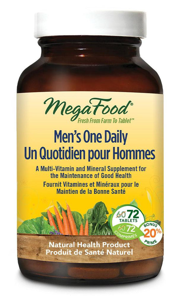 MEGAFOOD Mens One Daily (72 tabs)