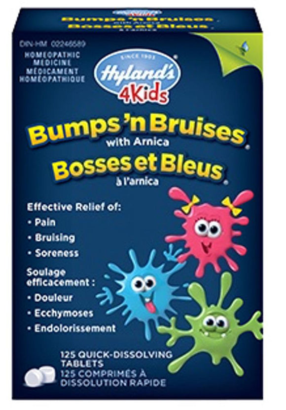 HYLANDS Bumpsn Bruises w/Arnica (125 tabs)