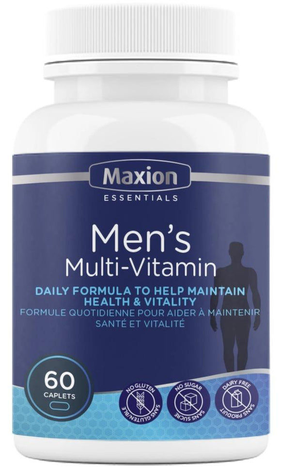 MAXION Mens Multi Vitamin (60 caps)