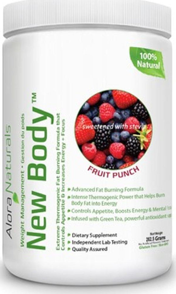 ALORA NATURALS New Body ( Fruit Punch - 262.5 gr )