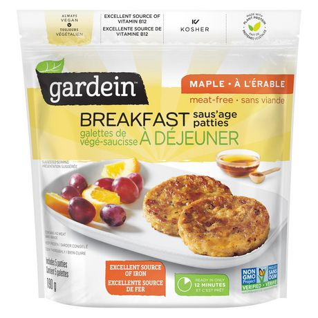 Gardein Original Breakfast Saus'age Patties