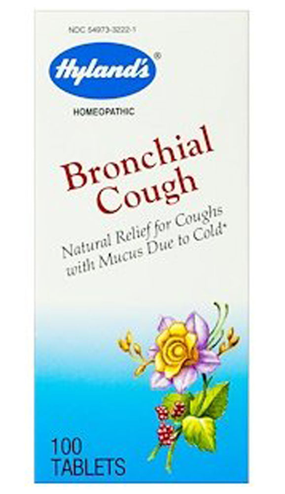 HYLANDS Bronchial Cough (100 tabts)